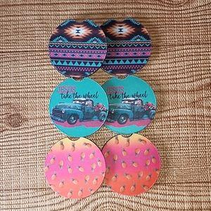 Car Coasters SET OF THREE